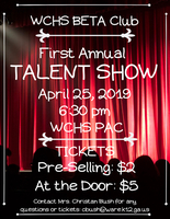Make Plans to Come See our Talent Show
