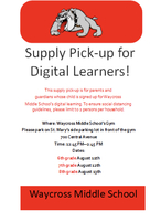 Attention WXMS Digital Learners! 🐾💻