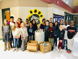 Ruskin Elementary Students Give Back to the Community
