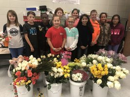 Ruskin Elementary School's NEHS Blossoms By Giving Back