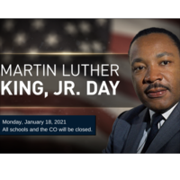 WCS to Observe MLK, Jr. Day 1/18/21