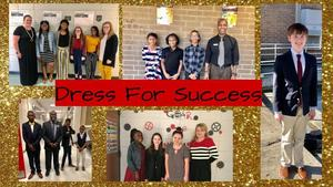 WXMS Students Dress for Success