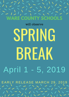 Early Release and Spring Break Information