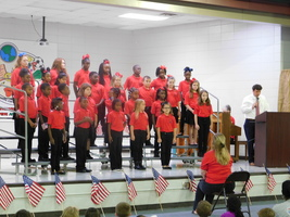 Center Elementary Recognizes Veterans Day