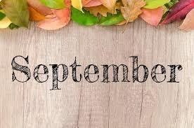September 2019 Parent Calendar