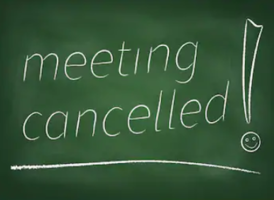 March 16th Called Board Meeting Cancelled