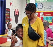 Memorial Drive Elementary Celebrates Grandparents Day