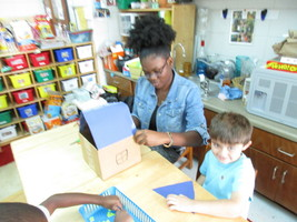DAFFODIL Students Learn About Homes and Families through STEAM Activity