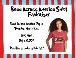 Read Across America Shirt Fundraiser