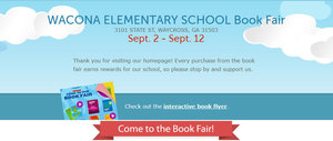 Book Fair starts tomorrow