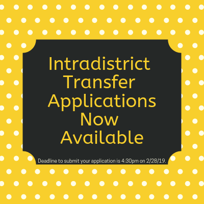 Intradistrict Transfer Applications
