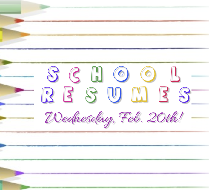 School Resumes Feb 20