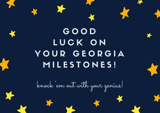 Good luck on the GMAS!