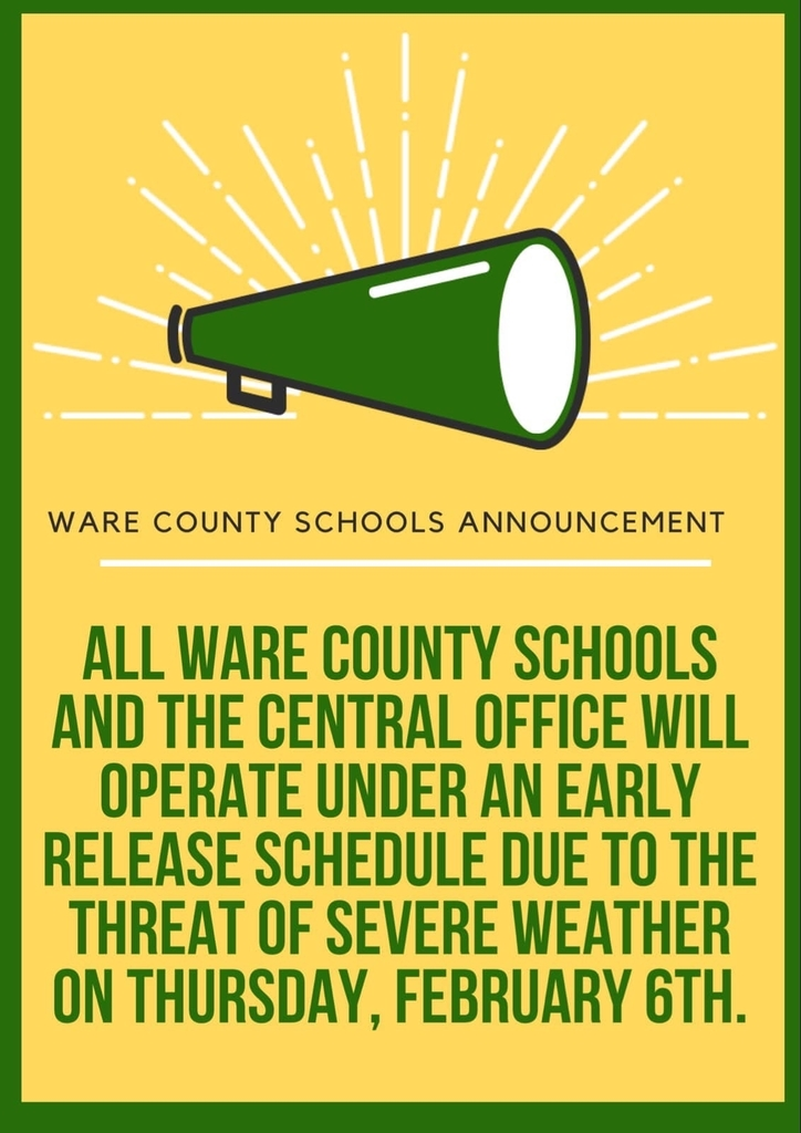 Severe weather announcement