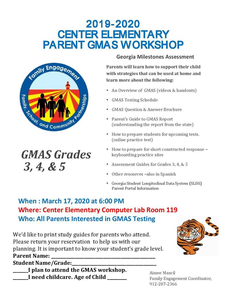 gmas workshop