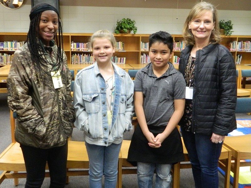 Center Elementary Spelling Bee Winners